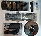 Триммер для стрижки волос PROMOTEC PM-359 с насадками | Профессиональная машинка для стрижки волос, фото 5