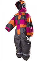 """Термокомбинезон лыжный сдельный PIDILIDI """"Элегант"""" для девочки. Размеры: от 98 до 128"""