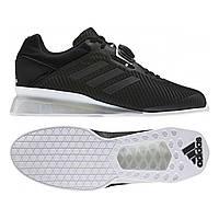 Обувь для тяжелой атлетики штангетки Adidas Leistung 2 черные
