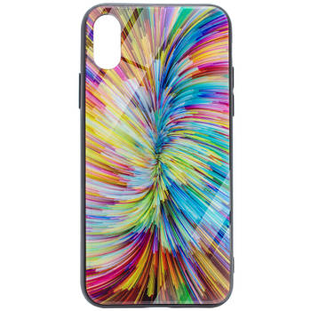 "Накладка Glass Case Unreal для Apple iPhone X (5.8"") / XS (5.8"")"