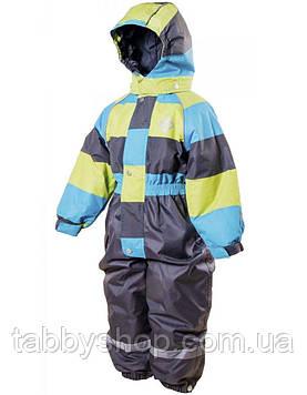 """Термокомбинезон лыжный сдельный PIDILIDI """"Элегант"""" для мальчика. Размеры: 98, 110, 116, 122, 128"""