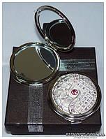 Косметическое зеркальце в подарочной упаковке Франция №6960-M63P-3