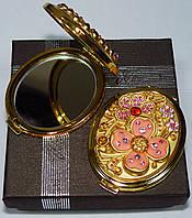Косметическое зеркальце в подарочной упаковке Австрия №6960-T70G-6