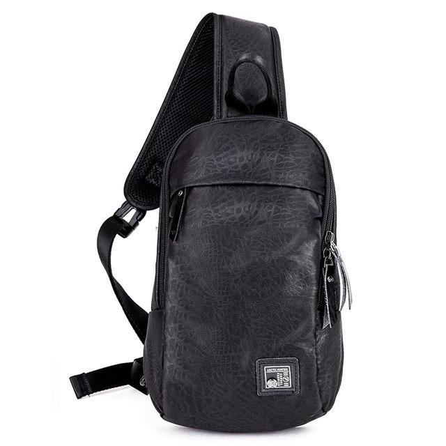 Удобная сумка-мессенджер Arctic Hunter XB00033 для бизнеса и путешествий, многофункциональная, 4л