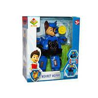 Машинка Трансформер щенок, Гонщик, детская игрушка