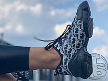 Женские кроссовки Dior D-Connect Black/White, фото 3