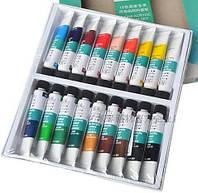 Профессиональный набор акриловых красок Winsor & Newton (18 * 10 мл.)