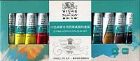 Профессиональный набор акриловых красок Winsor & Newton (12 * 10 мл.)