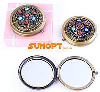 Косметическое Зеркальце в подарочной упаковке (Испания) №7006-9-15