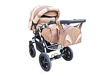 Детская коляска-трансформер Prado Lux len 03/24, Trans baby