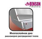 Набор кастрюль из нержавеющей стали 6 предметов Benson BN-215 11 л, 13 л, 16 л, фото 4