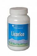 Солодка Плюс (Лакричник) / Licorice ВитаЛайн / VitaLine Растительный противовоспалительный препарат 90 таблет