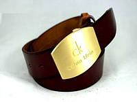 Ремень женский кожаный msy210wh 125 см Коричневый