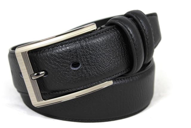 Кожаный стильный ремень e400001a 135 см черный