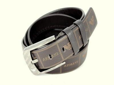 Кожаный стильный ремень ar40br53 125 см коричневый