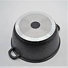 Кастрюля с мраморным антипригарным покрытием Benson BN-307 4.2 л, фото 6