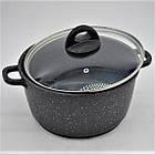 Набор посуды Benson BN-312 мраморное покрытие | 6 предметов, фото 7