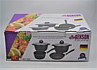 Набор посуды Benson BN-312 мраморное покрытие | 6 предметов, фото 9