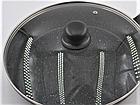Сковорода с антипригарным мраморным покрытием с крышкой Benson BN-502 24*5 см, фото 7