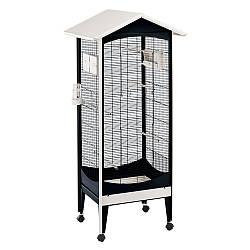 Вольер-клетка для маленьких птиц:канареек, амадин BRIO MINI FERPLAST-ФЕРПЛАСТ.60.5*73.5*160 см