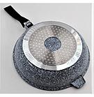 Сковорода литая WOK с антипригарным гранитным покрытием Benson BN-521 28*7 см, фото 4