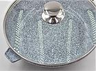 Сковорода литая WOK с антипригарным гранитным покрытием Benson BN-521 28*7 см, фото 8