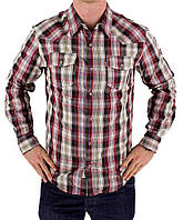 Рубашка Levi's Simiyon Plaid Western Button-Down Shirt - Men