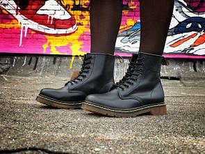 Женские ботинки Dr. Martens из кожи