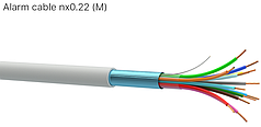 Кабель для систем пожарной сигнализации Alarm Cable 6*0,22 Одескабель