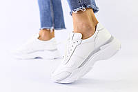 Женские кроссовки белые, фото 1