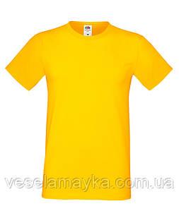 Желтая мужская футболка (Премиум)