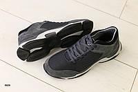 Мужские кроссовки в сеточку, с ортопедической стелькой, фото 1