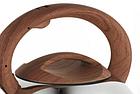 Чайник со свистком из нержавеющей стали Benson BN-702 3 л | Нейлоновая ручка | Индукция, фото 4