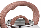 Чайник со свистком из нержавеющей стали Benson BN-705 3 л | Нейлоновая ручка | Индукция, фото 4