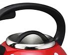 Чайник со свистком из нержавеющей стали Benson BN-706 3 л | Нейлоновая ручка | Индукция, фото 5