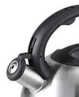 Чайник со свистком из нержавеющей стали Benson BN-709 3 л | Нейлоновая ручка | Индукция, фото 3