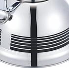 Чайник со свистком из нержавеющей стали Benson BN-711 3 л | Нейлоновая ручка | Индукция, фото 3