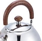 Чайник со свистком из нержавеющей стали Benson BN-712 3 л | Нейлоновая ручка | Индукция, фото 5
