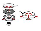 Сковорода гриль-газ Benson BN-802 с антипригарным покрытием | Сковородка для гриля, фото 8