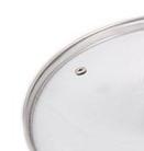 Крышка из закаленного стекла Benson BN-1009 32 см   Стеклянная крышка на кастрюлю, фото 2