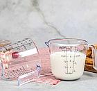 Мерный стакан пластиковый с ручкой Benson BN-1018 300 мл | Мерная чаша, фото 2