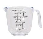 Мерный стакан пластиковый с ручкой Benson BN-1018 300 мл | Мерная чаша, фото 7