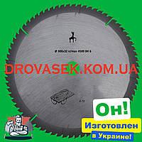 300x32 z72 Заводской пильный диск с победитом по дереву Олень