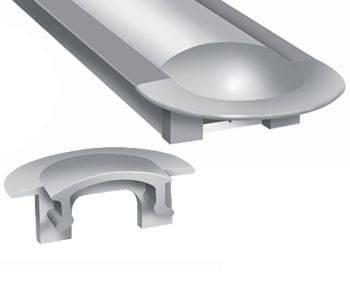 Торцевая заглушка ЗПВ 12мм универсальная Код.56622, фото 2