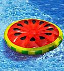 Пляжный надувной матрас - плот Арбуз, диаметр 143 см, фото 3