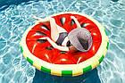 Пляжный надувной матрас - плот Арбуз, диаметр 143 см, фото 5