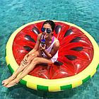 Пляжный надувной матрас - плот Арбуз, диаметр 143 см, фото 7