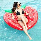 Пляжный надувной матрас - плот Клубника, диаметр 1,4*1,4m, фото 2