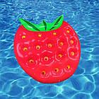 Пляжный надувной матрас - плот Клубника, диаметр 1,4*1,4m, фото 3