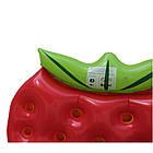 Пляжный надувной матрас - плот Клубника, диаметр 1,4*1,4m, фото 5